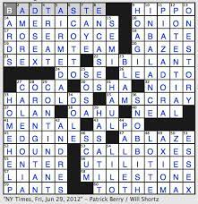 Rex Parker Does The Nyt Crossword Puzzle Guitarist Segovia Fri 6 29 12 Callas Contemporary Ethan Frome S Sickly Wife Werther S Love In Goethe Novel Literally Man Of Forest