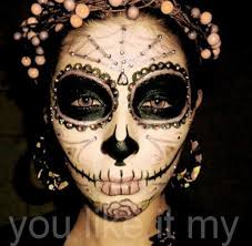 you like it my easy mexican sugar skull makeup for day of the dead sugar skull makeup simple sugar skull makeup sugar skull face paint