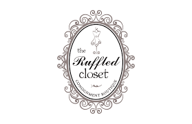 Design Consign The Ruffled Closet Consignment Shop Logo Design Logos