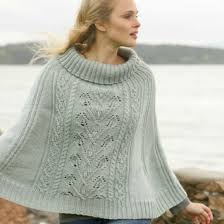 Knit Poncho Pattern Beauteous Knitted Poncho Patterns With Video Tutorial For Beginners Advanced
