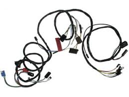 67 mustang headlight wiring harness w tach, (economy version) 67 foxbody headlight harness at Mustang Headlights Harness