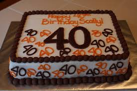 40th Birthday Cake Idea Wedding Academy Creative 40th Birthday
