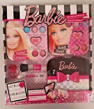 barbie on the go palette make up kit gift set s cosmetics case beauty travel