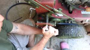 how to change wheel drive belts on exmark metro