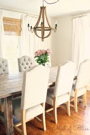 Selecting The Right Dining Chairs Nest Of Bliss - Tufted dining room chairs sale