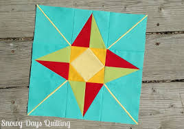 I Wish You a Merry Quilt-A-Long: North Star — Snowy Days Quilting & north star quilt block Adamdwight.com