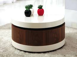 round table with drawer round coffee table with storage drawer table india