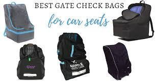 the best wheeled car seat travel bag by
