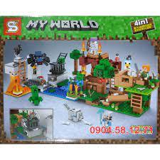Đồ chơi LEGO Minecraft Thế Giới của Tôi - SY6194 My World giảm chỉ còn  74,000 đ