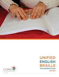 Unified Braille English Guide