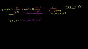 solving rational equations khan academy