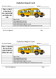 Chart A Bus Freebie Read This Post About How To Implement A Daily Bus