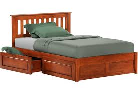 rustic platform beds with storage. Rosemary Platform Captains Storage Bed Frame Cherry The Futon Shop Throughout With Decor 5 Rustic Beds