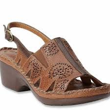 Ariat Polly Ray Almond Leather Slingback Sandals 10015209 Women's 9.5   eBay