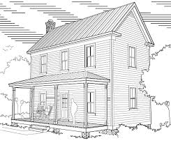 virginia farmhouse plans 16 x 32 two story house plans
