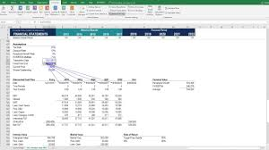 Dicounted Cashflow Discounted Cash Flow Dcf Model Youtube