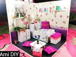 Miniature Dollhouse Bedroom Furniture