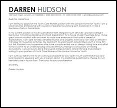 cover letter for youth worker youth care worker cover letter sample cover letter templates