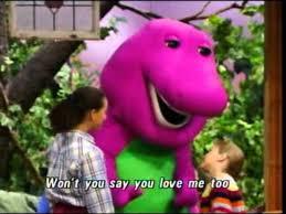barney i love you song best original