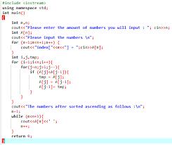 Write a algorithm for bubble sort