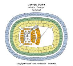 Georgia Dome Seating Chart Check The Seating Chart Here