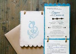 Nautical Wedding Invitation Beyond Tomatoes Graphic Design