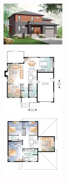 free modern residential house plans homes zone