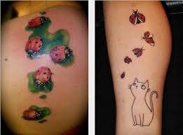 Tatuaggio Coccinella Significato Disegni Del Tatuaggio E Foto