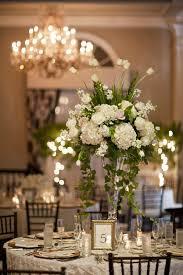 White wedding centerpieces Tall Tall White Wedding Centerpiece Elizabeth Anne Designs The Wedding Blog Pinterest Tall White Wedding Centerpiece Wedding Pinterest Wedding