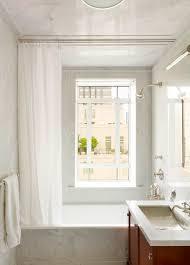 Half Bathroom Vanity Enchanting White Fabric Curtain Bathroom Window Treatments For