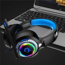 Flyworld <b>A60</b> Gaming Headphone RGB <b>LED Light Stereo</b> Bass ...