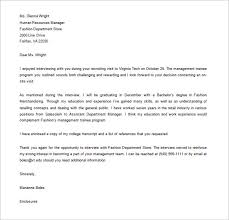 Thank You Letter After Interview Hr Coordinator Vancitysounds Com
