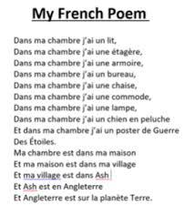 On dis de moi que je suis tendre et sensible, impulsive et passionnée. Francophonie Association For Language Learning