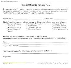 Medical Records Template Release Dental Records Form Template Medical Record New Fee Invoice