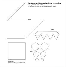 Blank Bookmark Template Photo Templates Photoshop Free