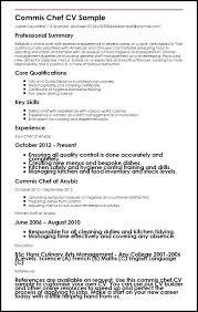 Cook Resume Sample Pdf Chef Sample Myperfect Cook Cv Sample Pdf