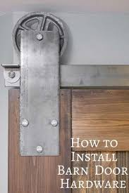 this handy guide will teach you how to install sliding barn door hardware artisan
