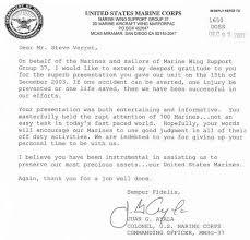 Marine Corps Resume Impressive Marine Corps Letter Of Recommendation Bino48terrainsco