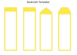 Bookmark Template Word Make Your Own Bookmark Template Free