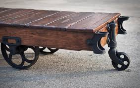 Industrial Factory Cart Coffee Table Vintage Industrial Cart Coffee Table