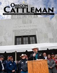 March 2020 Oregon Cattleman by oregoncattleman - issuu