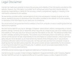 Official Documents Template Sample Disclaimer Template Termsfeed