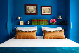 Small Picture Rich Blue and Pink Interior Decorating Paint Colors and Modern