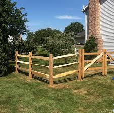 split rail wood fence gate. Split Rail Fence Gate Tri Boro Fencing Contractors Inc | Wood Gallery Residential