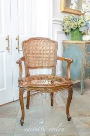 french cane chair. A French Cane Chair Redo | Edith \u0026 Evelyn Www.edithandevelynvintage.com E