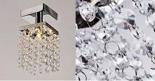 modern crystal chandeliers rain drop crystal pendant lights crystal drops hanging light 12 00