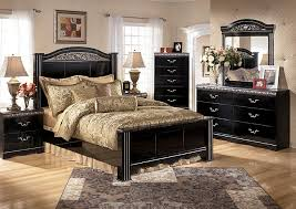Factory Direct Furniture Constellations Queen Poster Bed