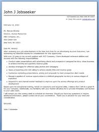 Sample Cover Letter For Advertising Job Adriangatton Com Insurance