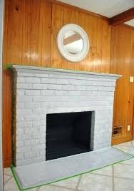 painted brick fireplace white painting brick fireplace white best of how to prep prime and paint painted brick fireplace white