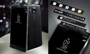 lg 10. the lg v10 is a smartphone based upon main 5.7-inch qhd ips quantum display. has implemented an independent second screen just above and to right lg 10